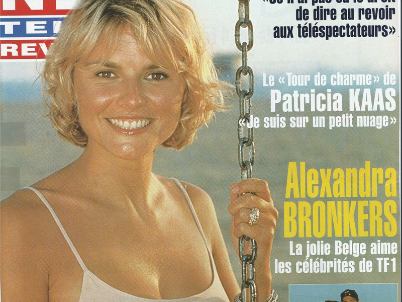 La jolie Belge aime les célébrités de TF1 A Hollywood, elle présente l'homme de sa vie
