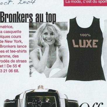 Alexandra Bronkers au top