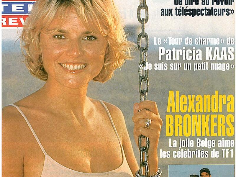 La jolie Belge aime les célébrités de TF1