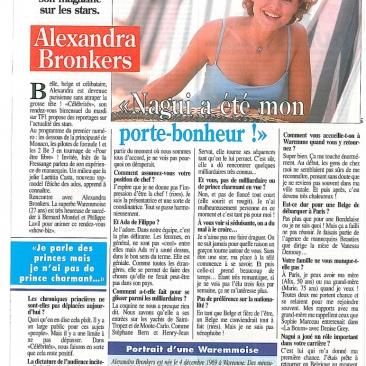La Belge réussit à Paris avec son magazine sur les stars.