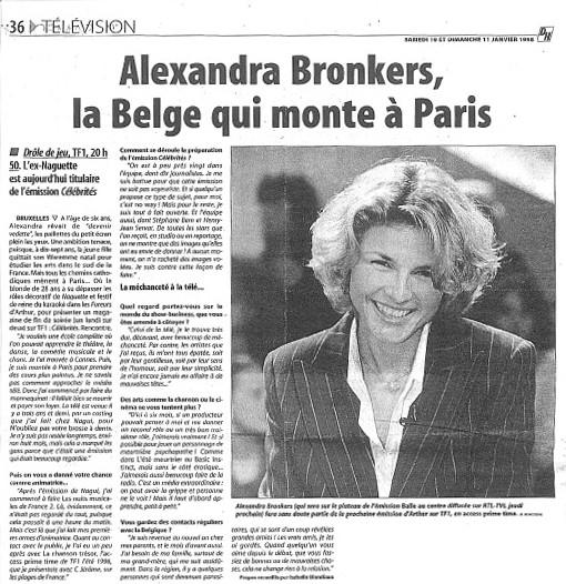 Alexandra Bronkers, la Belge qui monte à Paris