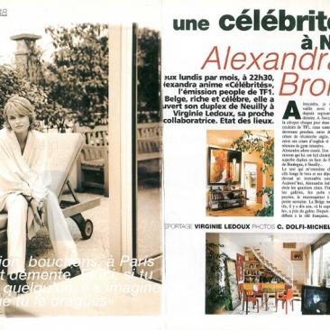 Alexandra Bronkers nous ouvre sa maison