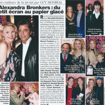 Alexandra Bronkers : du petit écran au papier glacé